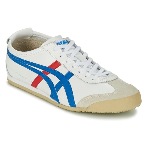 Onitsuka Tiger MEXICO 66. 81.00. Scarpe Sneakers basse Onitsuka Tiger  MEXICO 66 Bianco / Blu / Rosso Scarpe ...