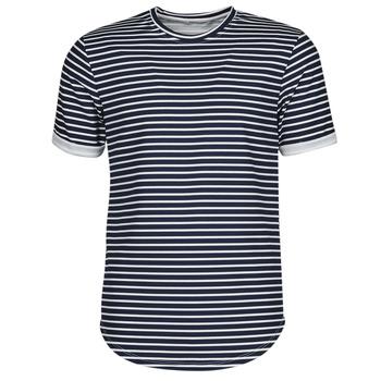 Abbigliamento Uomo T-shirt maniche corte Yurban ORICO Marine / Bianco