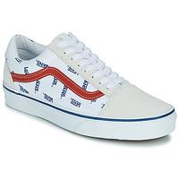 Scarpe Sneakers basse Vans OLD SKOOL Bianco / Blu