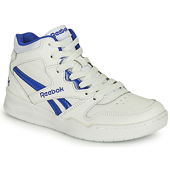 Scarpe Unisex bambino Sneakers alte Reebok Classic BB4500 COURT Bianco / Blu