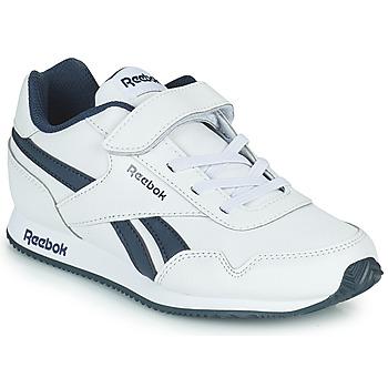 Scarpe Bambino Sneakers basse Reebok Classic REEBOK ROYAL CLJOG Bianco / Marine