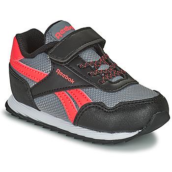 Scarpe Unisex bambino Sneakers basse Reebok Classic REEBOK ROYAL CLJOG Nero / Rosso
