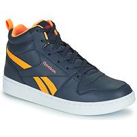 Scarpe Unisex bambino Sneakers alte Reebok Classic REEBOK ROYAL PRIME Marine / Arancio