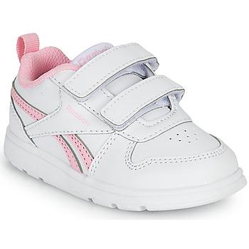 Scarpe Bambina Sneakers basse Reebok Classic REEBOK ROYAL PRIME Bianco / Rosa