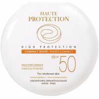 Bellezza Fondotinta & primer Avene Solaire Haute Protection Compact Teinté Spf50 doré 10 Gr