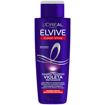 Bellezza Shampoo L'oréal Elvive Color-vive Violeta Champú Matizador  200