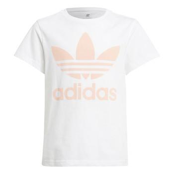 Abbigliamento Unisex bambino T-shirt maniche corte adidas Originals VAGUO Bianco