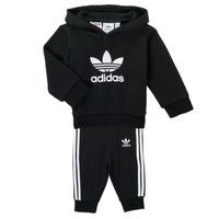 Abbigliamento Unisex bambino Completo adidas Originals TROPLA Nero