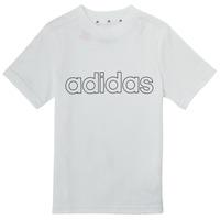 Abbigliamento Bambino T-shirt maniche corte adidas Performance ALBA Bianco