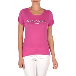 Abbigliamento Donna T-shirt maniche corte School Rag TEMMY WOMAN Viola