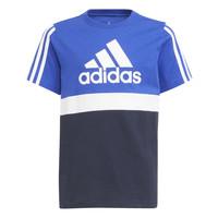 Abbigliamento Bambino T-shirt maniche corte adidas Performance ABATIA Marine / Nero
