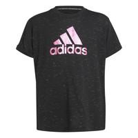 Abbigliamento Bambina T-shirt maniche corte adidas Performance MONICA Nero