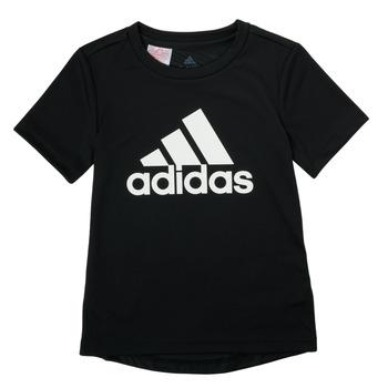 Abbigliamento Bambino T-shirt maniche corte adidas Performance NADGED Nero