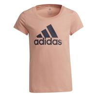 Abbigliamento Bambina T-shirt maniche corte adidas Performance ALBERIC Rosa