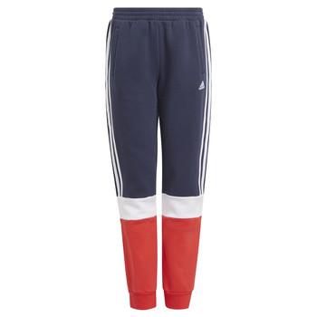 Abbigliamento Bambino Pantaloni da tuta adidas Performance ALMANA Marine / Rosso