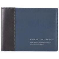 Borse Uomo Portafogli Piquadro PU257DTR/BLU Blu