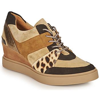 Scarpe Donna Sneakers basse Mam'Zelle PERRY Beige / Nero / Leopard