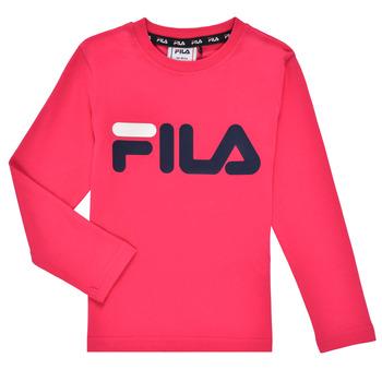 Abbigliamento Bambina T-shirts a maniche lunghe Fila ESPIN Rosa