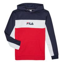 Abbigliamento Bambino Felpe Fila CAMILLA Rosso / Marine