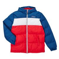 Abbigliamento Bambino Piumini Fila BELOMA Rosso / Marine