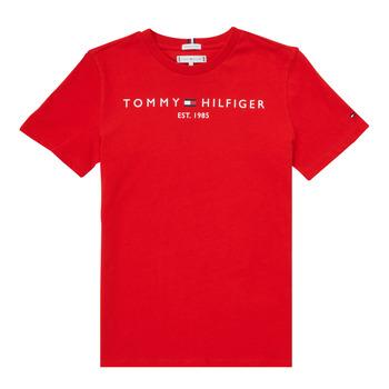 Abbigliamento Bambino T-shirt maniche corte Tommy Hilfiger SELINERA Rosso