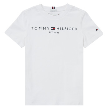 Abbigliamento Bambino T-shirt maniche corte Tommy Hilfiger SELINERA Bianco