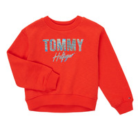 Abbigliamento Bambina Felpe Tommy Hilfiger KOMELA Rosso