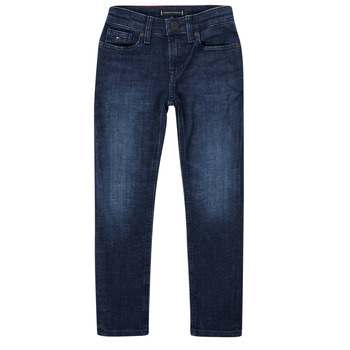 Abbigliamento Bambino Jeans slim Tommy Hilfiger ARMAND Blu
