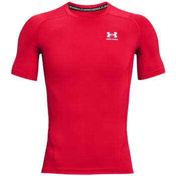 Abbigliamento Uomo T-shirt maniche corte Under Armour Heatgear Armour Short Sleeve Rouge