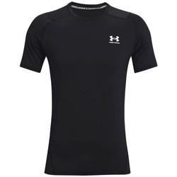 Abbigliamento Uomo T-shirt maniche corte Under Armour Heatgear Armour Fitted Short Sleeve Noir
