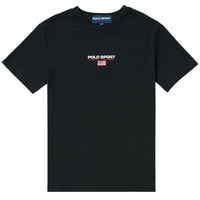 Abbigliamento Bambino T-shirt maniche corte Polo Ralph Lauren ANNITA Nero