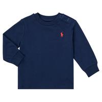 Abbigliamento Bambino T-shirts a maniche lunghe Polo Ralph Lauren FADILA Marine