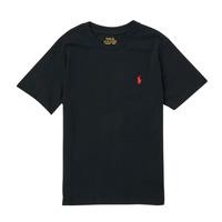 Abbigliamento Bambino T-shirt maniche corte Polo Ralph Lauren FANNY Nero