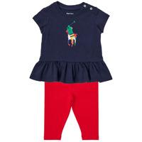 Abbigliamento Bambino Completo Polo Ralph Lauren BETINA Multicolore