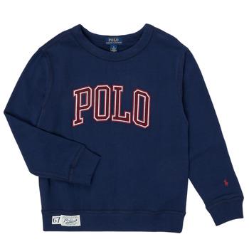 Abbigliamento Bambino Felpe Polo Ralph Lauren KAMILLAR Marine