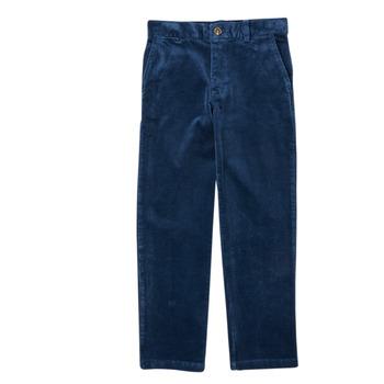 Abbigliamento Bambino Pantaloni 5 tasche Polo Ralph Lauren FRETTI Marine