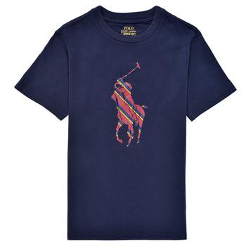 Abbigliamento Bambino T-shirt maniche corte Polo Ralph Lauren GUILIA Marine
