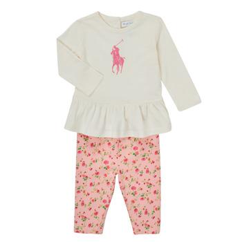 Abbigliamento Bambina Completo Polo Ralph Lauren FRENNO Multicolore