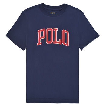 Abbigliamento Bambina T-shirt maniche corte Polo Ralph Lauren MATIKA Marine