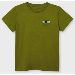 Abbigliamento Unisex bambino T-shirt maniche corte Mayoral ATRMPN-26627 Verde