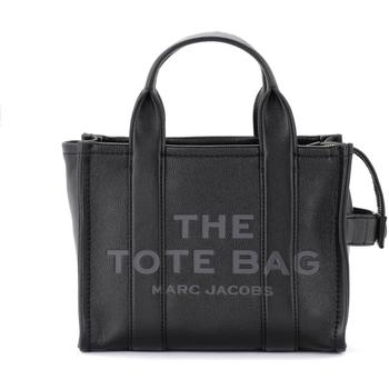 Borse Donna Borse a mano Marc Jacobs Borsa The  The Leather Mini Traveler Tote Bag in Nero