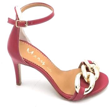 Scarpe Donna Sandali Mary 525-90 Fuxia