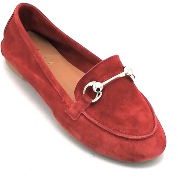 Scarpe Donna Mocassini Mary 4000 Rosso