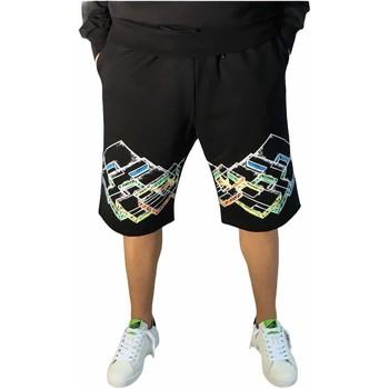 Abbigliamento Uomo Shorts / Bermuda Lotto LTU316 NERO