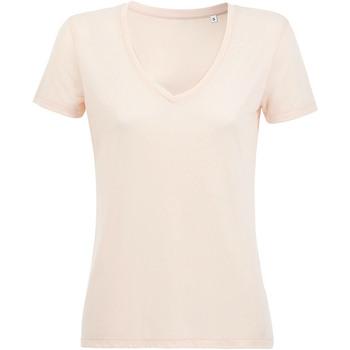 Abbigliamento Donna T-shirt maniche corte Sols 03098 Rosa pastello