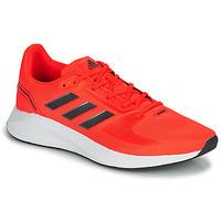 Scarpe Uomo Running / Trail adidas Performance RUNFALCON 2.0 Rosso / Nero