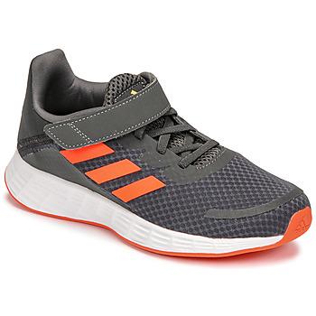 Scarpe Bambino Running / Trail adidas Performance DURAMO SL C Grigio / Rosso