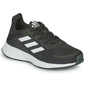Scarpe Unisex bambino Running / Trail adidas Performance DURAMO SL K Nero / Bianco