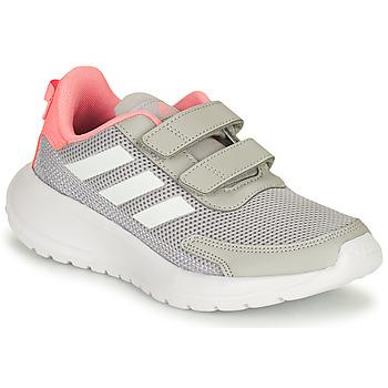 Scarpe Bambina Running / Trail adidas Performance TENSAUR RUN C Grigio / Rosa