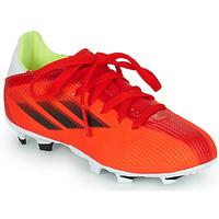 Scarpe Unisex bambino Calcio adidas Performance X SPEEDFLOW.3 FG J Rosso